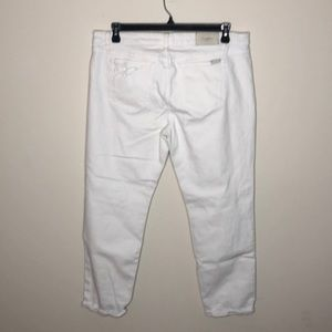 Joe's Jeans Jeans - Joe's jeans white distressed stretch denim 32